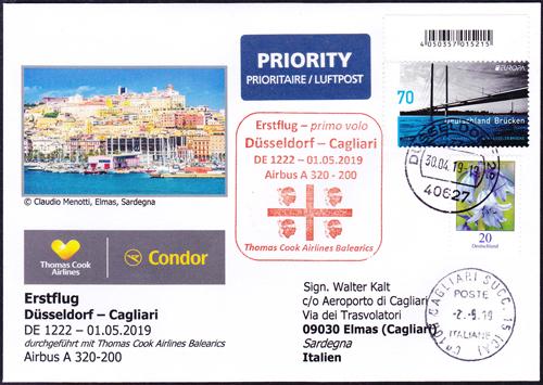 DГјsseldorf Cagliari